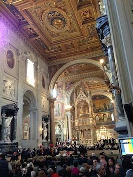 Papa Francisco toma posse da sua Cátedra