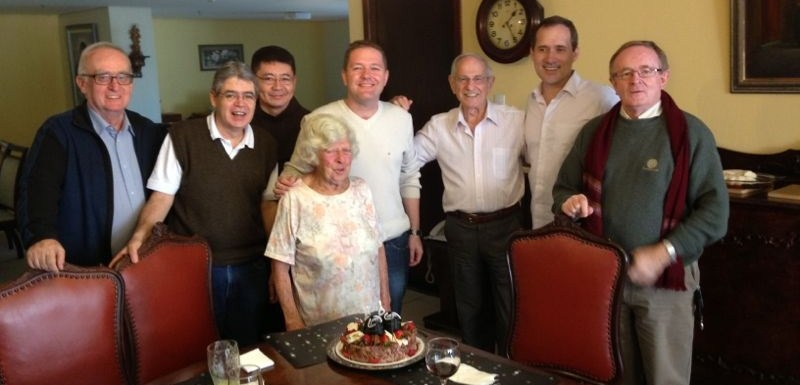 Antônia Paschoal completa 93 anos