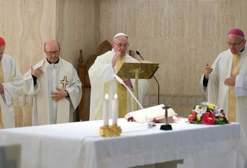 """Homilia do Papa Francisco: Aprender a difícil """"ciência"""" de nos deixar amar por Deus"""