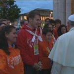 """Papa Francisco: """"Jovens, não tenham medo de fazer escolhas definitivas na vida"""""""