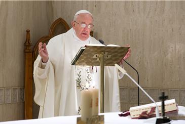 Papa Francisco: a Igreja deve ser sempre alegre como Jesus