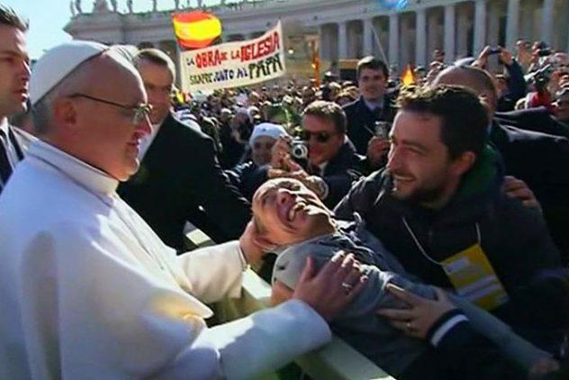 Mensagem do Papa Francisco para o XXII Dia Mundial do Doente