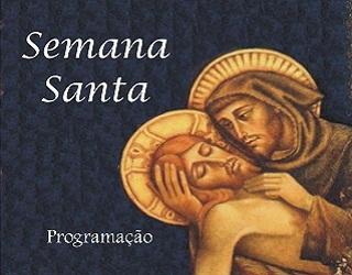 Programação para a Semana Santa