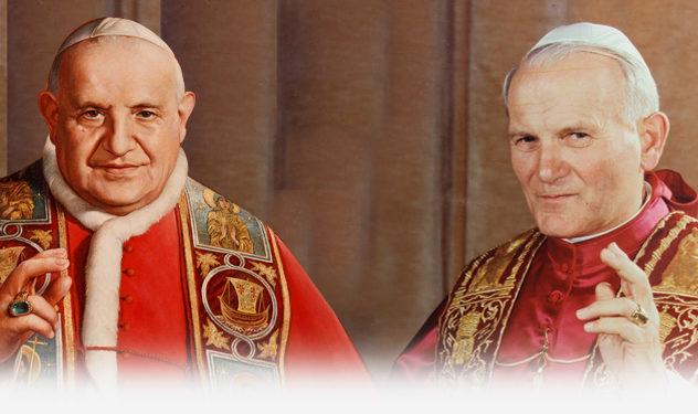 Canonizações de João XXIII e João Paulo II