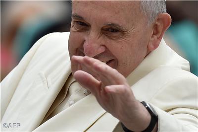 """Oremus pro Pontifice nostro Francisco"""