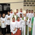 Visita à Igreja que está em Óbidos