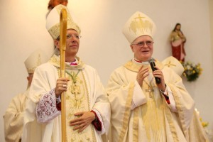 Dom José Roberto, vigário Episcopal na Região Ipiranga