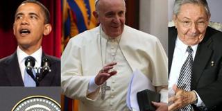"""Papa sobre Cuba e EUA: """"Hoje estamos felizes"""""""
