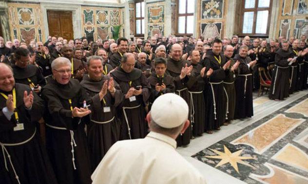 Papa aos capitulares da OFM: minoridade e fraternidade