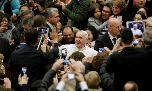 """Papa Francisco na Semana de Oração pela Unidade dos Cristãos: """"A misericórdia de Deus atuante no Batismo é mais forte do que as nossas divisões"""""""