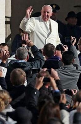 """Papa Francisco: """"A verdadeira justiça é o perdão"""""""