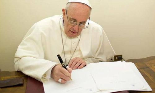 Mensagem do Papa Francisco por ocasião da Campanha da Fraternidade