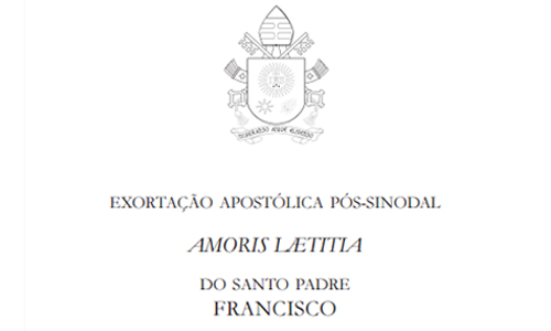 """Publicada Exortação Apostólica Pós-Sinodal """"Amoris laetitia"""""""