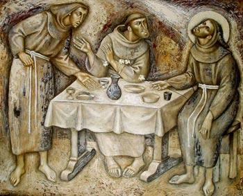São Francisco de Assis: grão puro no celeiro do sumo Rei