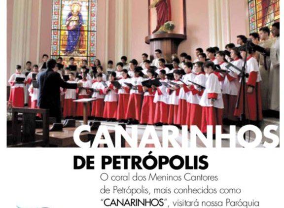 Concerto dos Meninos Cantores de Petrópolis
