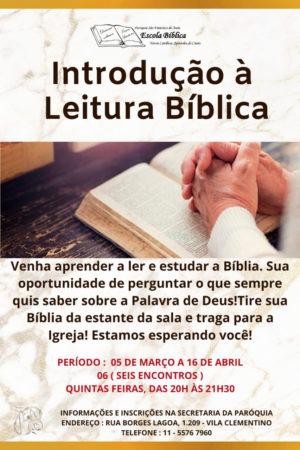 Introdução à Leitura Bíblica
