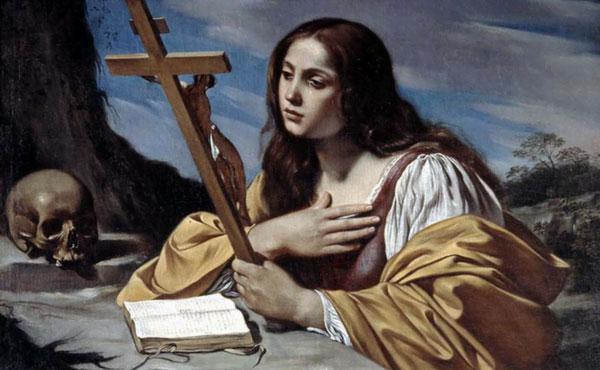 """SANTA MARIA MADALENA, AJUDAI-NOS A SEGUIR FIELMENTE A JESUS"" - FREI CARLOS N. CORRÊA, OFM"