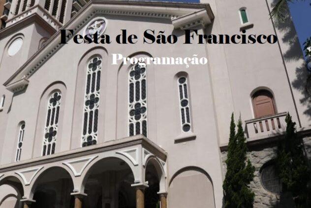 Programação para a Festa de São Francisco